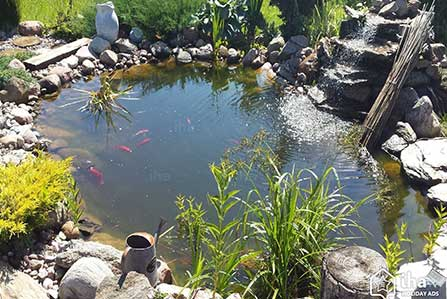 záhradné jazierka Zvolen